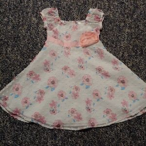 Sweet floral toddler dress